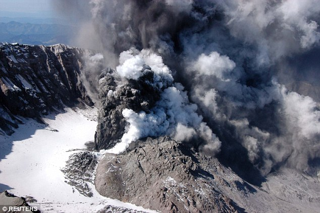 Lava, steam and ash began erupting from Mount St Helens in 2004 but it fell silent again in 2008. Geologists have been closely monitoring the volcano for signs that the unrest may begin again