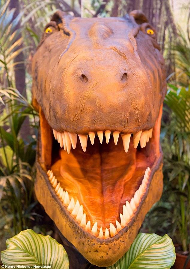 Scary Dinosaur Cake