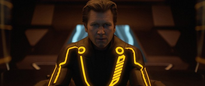 The suit was inspired by the glowing suits from the sci-fi hit film series Tron