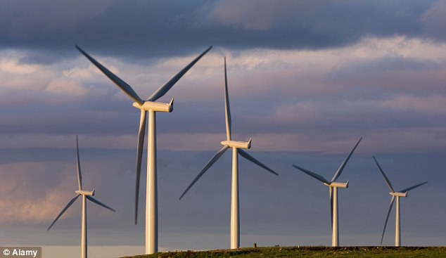 Forests of hideous, useless, vastly subsidised windmills predictably failed to help – because there was no wind