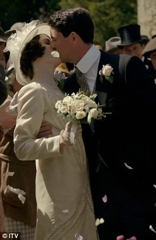 Lady Mary Crawley (Michelle Dockery) married Henry Talbot (Matthew Goode) in a surprise wedding