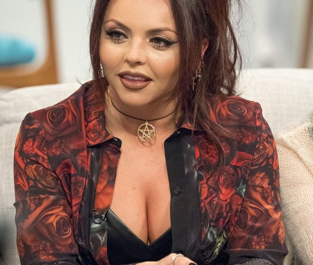 Racy Jesy Nelson Put On Very Busty Display On Monday Morning As Little Mix Made