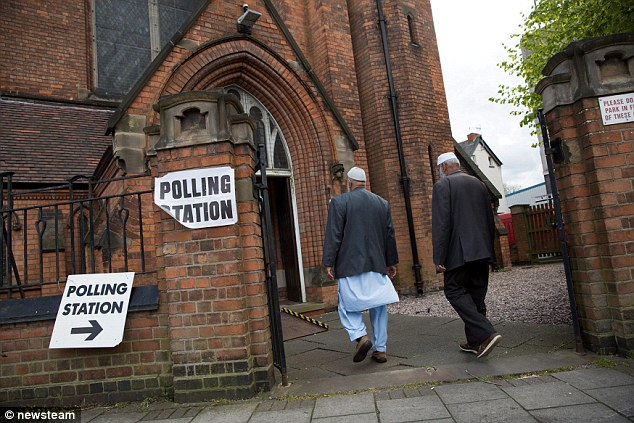 Mr Khan won the election with a hugemajority of 7,805 - the largest in the city. File photo