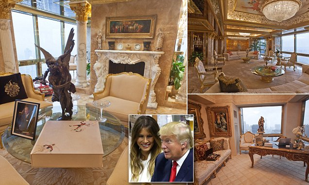 Donald Trumps 100m New York City Penthouse In Pictures