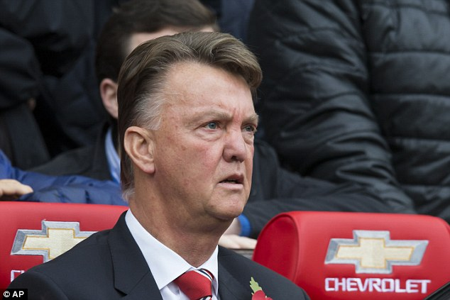 Louis van Gaal brought Valencia off in the derby after the winger was unable to recover from his foot injury