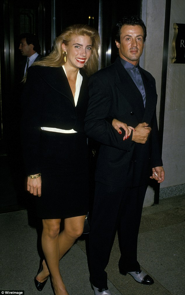 Sylvester Stallone Intimate Moment With Jennifer Flavin