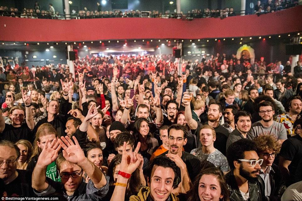 Eagles Of Death Metal Paris Fans Smile Before Theyre