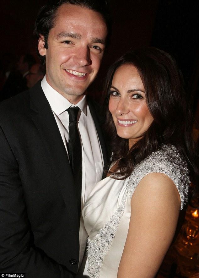 Laura Benanti And Patrick Brown Flash Their Wedding Rings