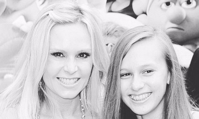 Tamra Judge Wishes Estranged Daughter Sidney Barney Happy Birthday On Twitter Daily Mail Online
