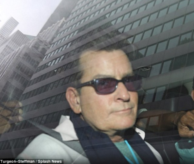 Charlie Sheen Above On Wednesday Reportedly Paid Over 1 6million In 2013 Alone On