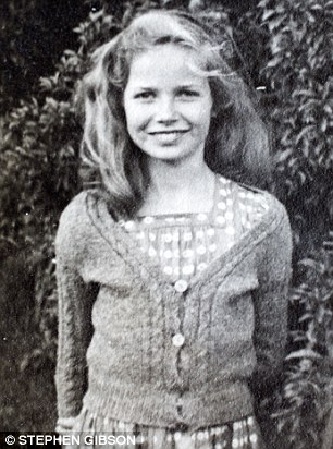 Ann Vaughan said she was sexually abused by Lord Nuffield for a decade from the age of 12. She is pictured (above) aged 13