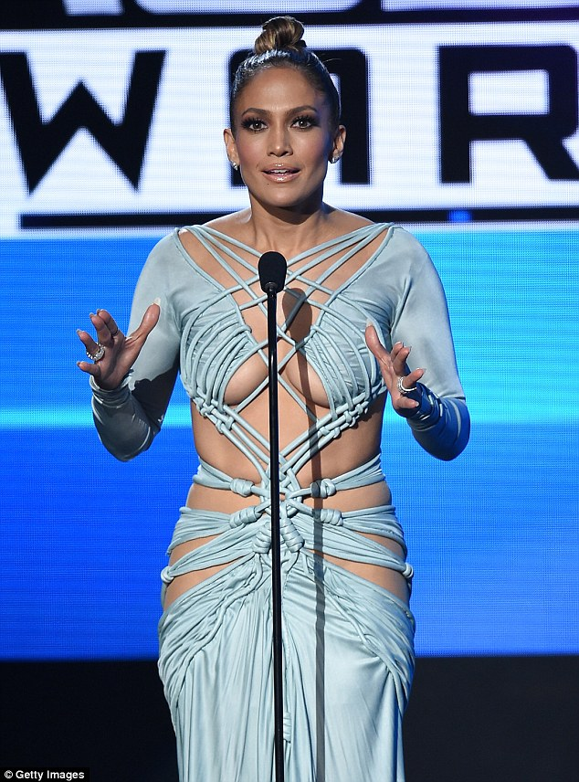 Look here, at me! While Jennifer Lopez delivered a sizzling performance at the American Music Awards on Sunday, it was her TEN wardrobe changes that will most certainly be remembered