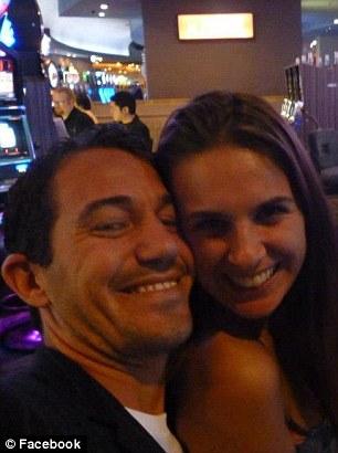 Adam Coleman pictured with his girlfriend, Josie Cox
