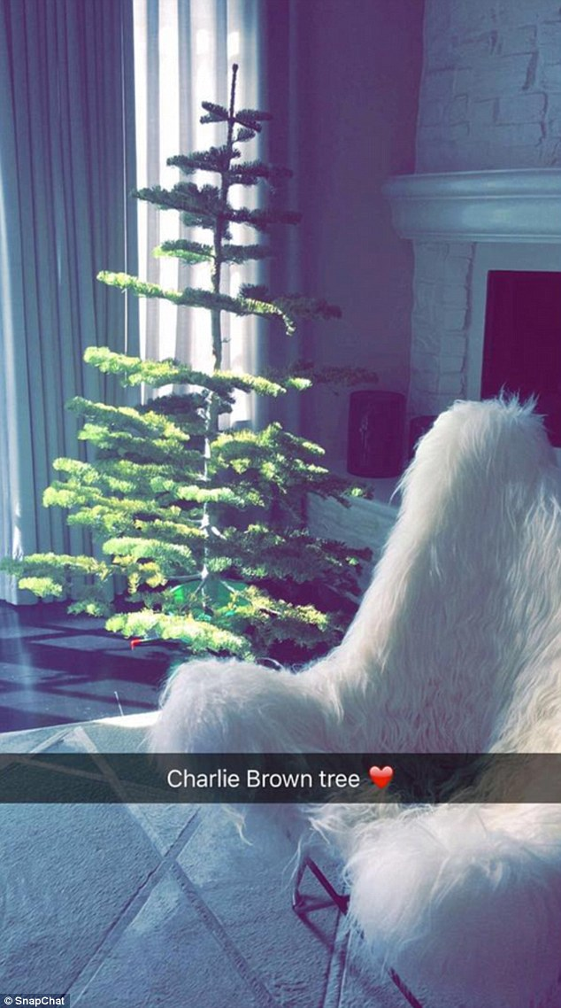 Kylie Jenner Shows Off Her Scrawny Charlie Brown