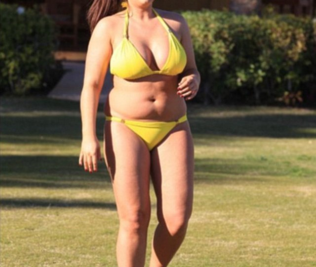 Curvy Lauren Goodger Is Clearly Thrilled With Her Recent Loss As She Posted A Throwback
