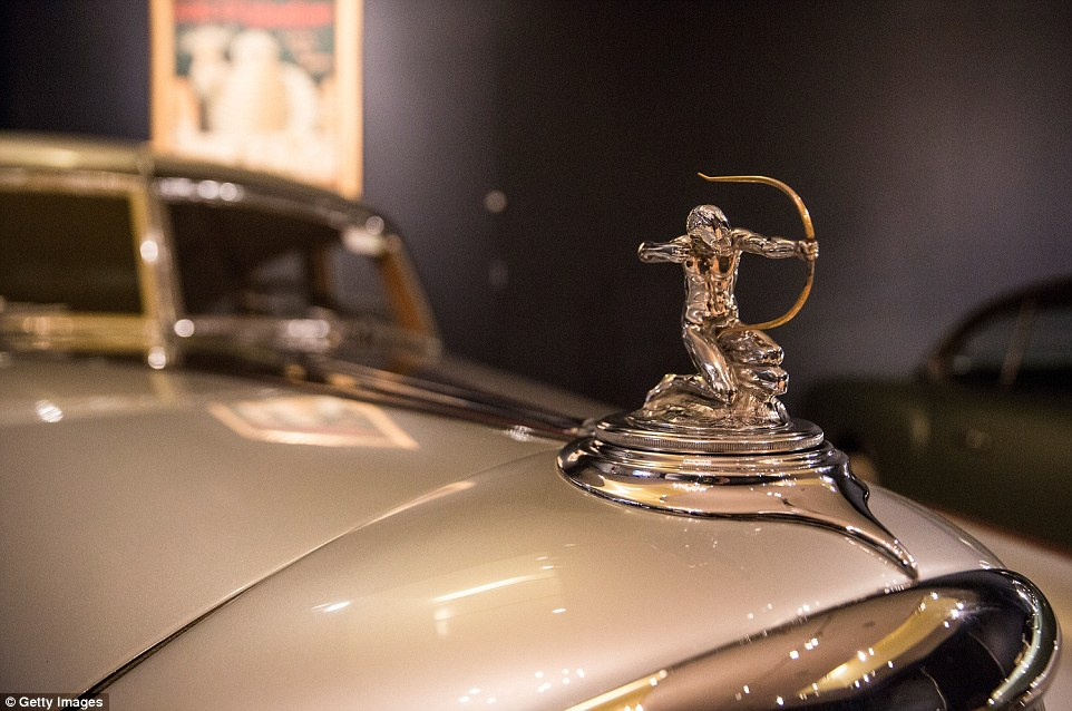 Breaking the mould: A 1933 Pierce-Arrow Silver Arrow, the car that inaugurated the streamlined automotive age, will also be up for auction