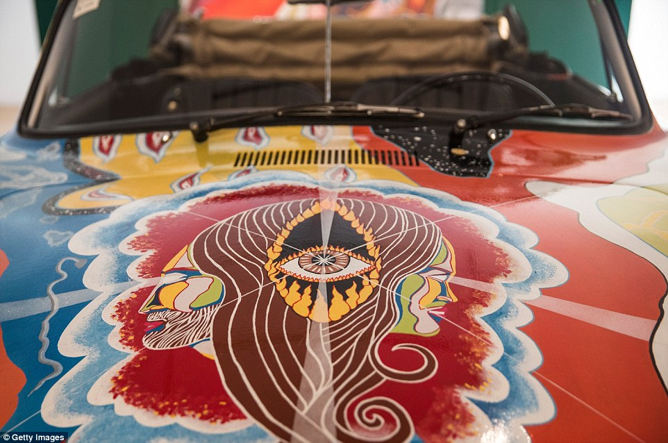 Joplin's 'History of the Universe' Porsche Cabriolet has spent the last 20 years on display at the Rock and Rock Hall of Fame and Museum
