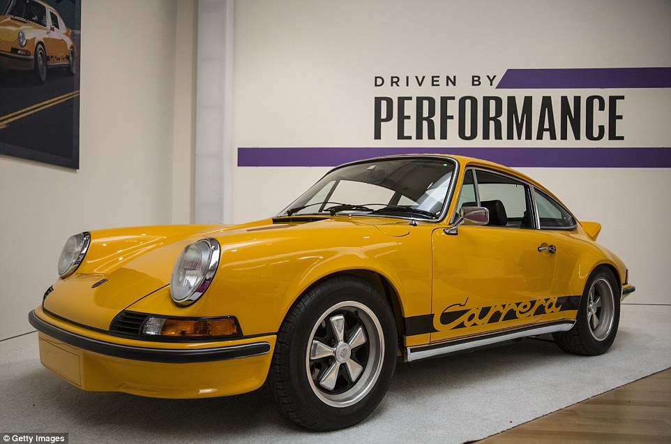 Another classic car up for sale is the 1973 Porsche 911 Carrera RS 2.7 Touring, which is expected to fetch more than half a million pounds