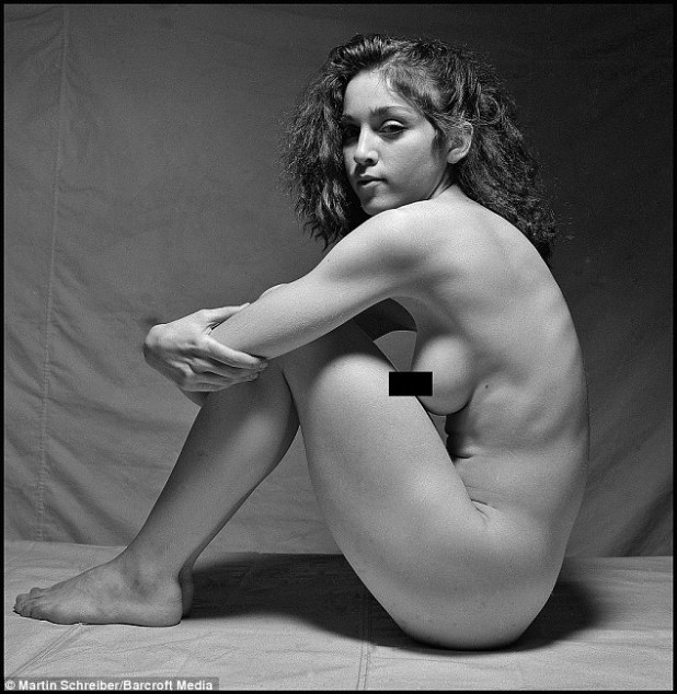 Body confident: Dubbed the 'lost nudes', the photos were taken 13 years before the publication of her Sex book and are proof that Madonna's erotic appeal very definitely pre-dated her pop career