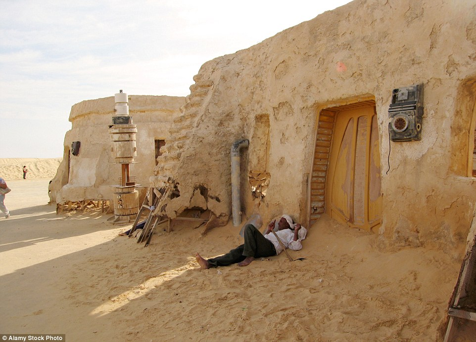 With so much sci-fi history in the desert, many are hoping the new release of the Star Wars film will bring tourists to Tunisia