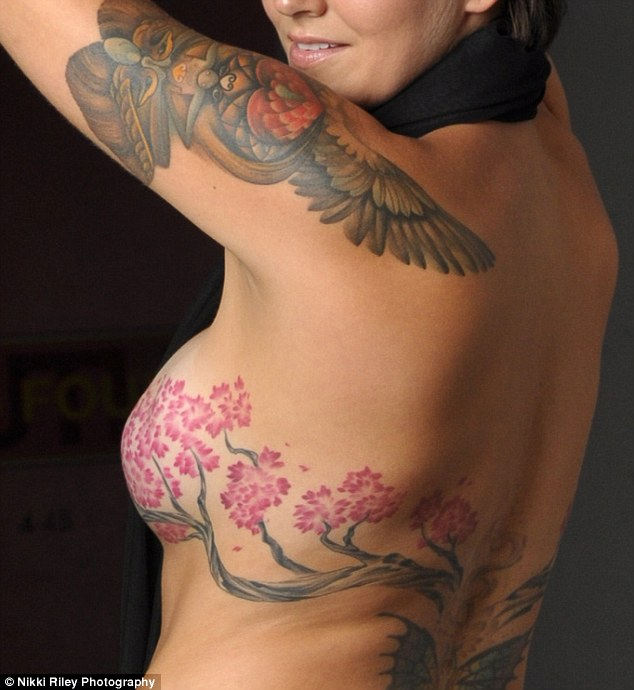 Intricate Line Art Tattoo