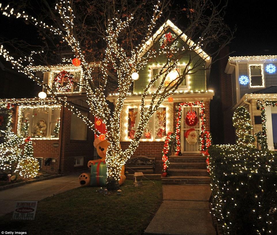 Neighborhood Christmas Lights