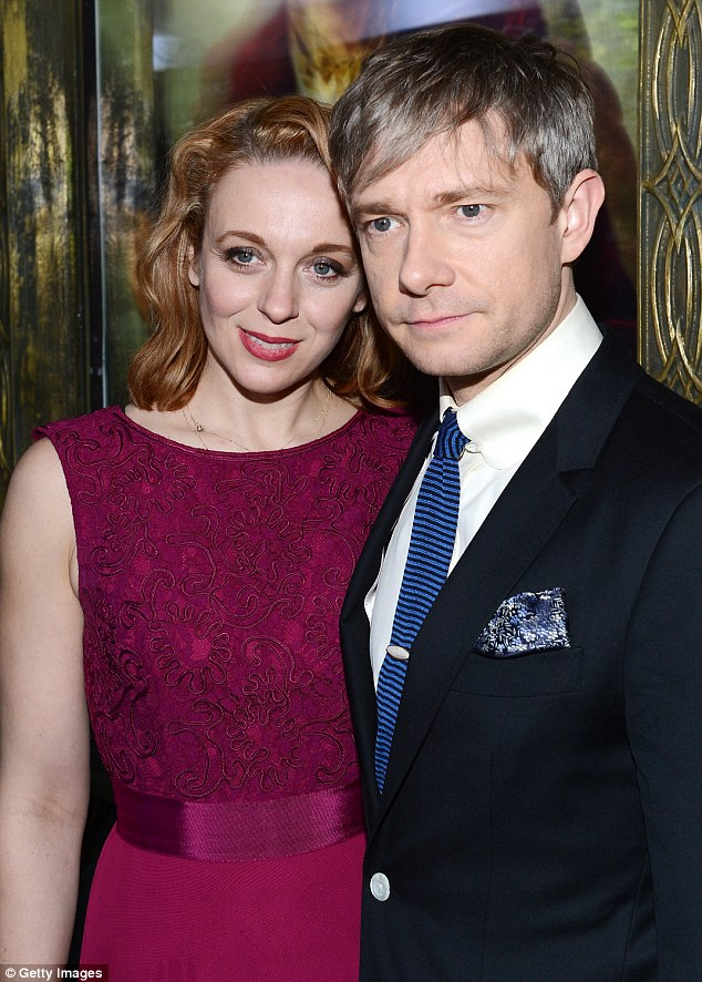 Martin Freeman Hints That Hes Tied The Knot With