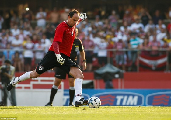 Image result for rogerio ceni goals