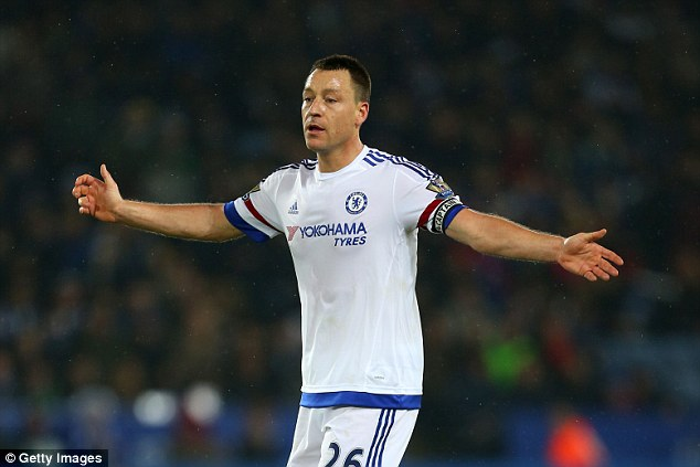 Terry's powers are fading but Chelsea still cannot afford to lose such an important player in the dressing room
