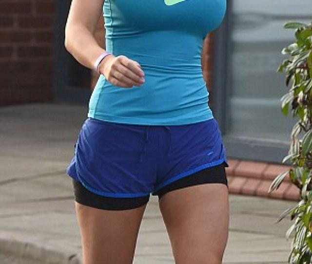 Fit As A Fiddle Despite Wearing Sports Attire The Wife Of Comedian Paddy Mcguinness