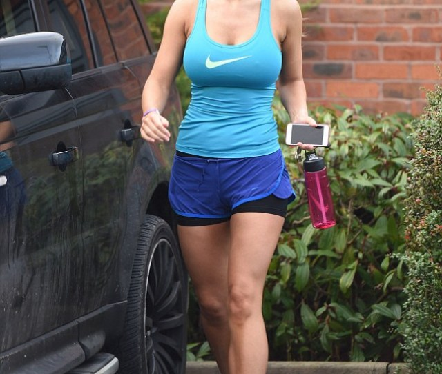 Pumping Iron Christine Mcguinness 27 Looked Absolutely Thrilled With Her Latest Workout On