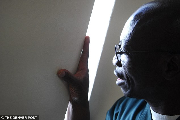 His break came in December 2013 when another man, L.C. Jackson, sent him a letter in prison saying he couldn't believe Moses-EL was accused of raping the woman because he 'had sex' with her at the same time that night