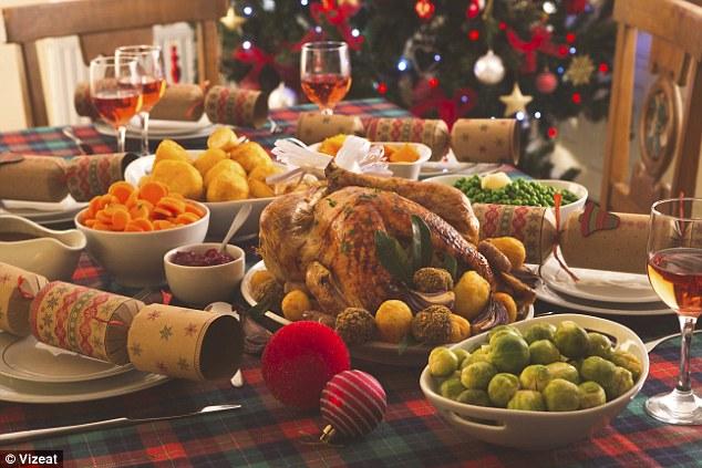 Image result for christmas dinner UK