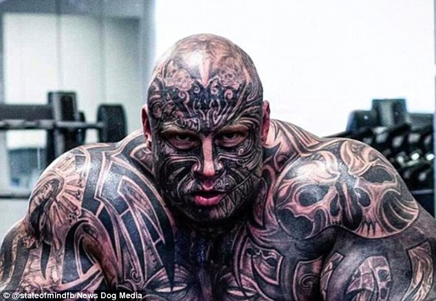 Danish Weightlifter Jens Dalsgaard Has 40 Tattoos And