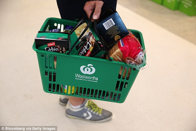 Valerie Browning said it was upsetting to see people buying 'junk' at supermarkets and stores in Australia before Christmas