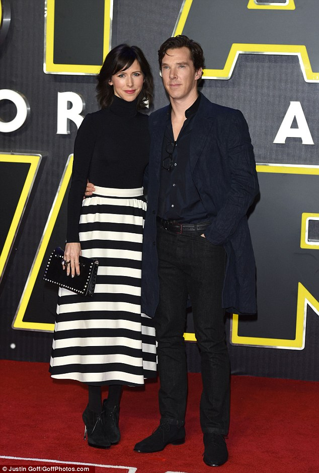 Special occasion:This is set be the actor's first Christmas since he tied the knot to Sophie Hunter on Valentine's Day before welcoming their son in June