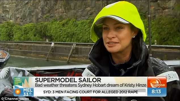 Kristy Hinze Clark Hopes To Win The Sydney To Hobart Yacht