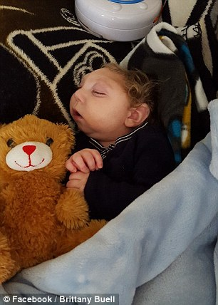 Presents Pile Up For Miracle Baby Jaxon Buell Born With