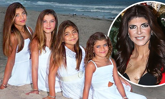 Teresa Giudice Features Her Four Daughters On Christmas