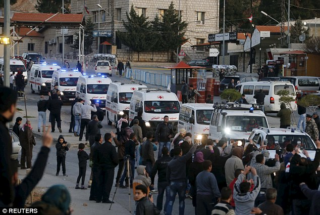 Image result for syrian evacuations
