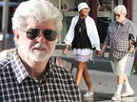 EXCLUSIVE: American filmmaker Georges Lucas, his wife and a friend are seen in St Barts during a shopping afternoon in St BartsPictured: Georges LucasRef: SPL1201265  291215   EXCLUSIVEPicture by: Splash NewsSplash News and PicturesLos Angeles: 310-821-2666New York: 212-619-2666London: 870-934-2666photodesk@splashnews.com