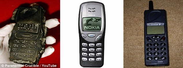 The lack of information on the dig online, and the objects similarity to a Nokia mobile phone, have led many people to brand it an 'elaborate hoax'. But there remain some UFO hunters who are making outlandish claims that this is evidence aliens once visited Earth, or that it could prove that time travel does exist