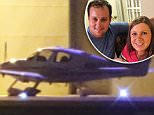 December 24, 2015: The Duggar family plane sits at Rockford Airport near Josh Duggar's rehab facility on Christmas Eve and the early hours of Christmas Day in Rockford, Illinois. ..Credit: Kamil Krzaczynski/INFphoto.com  Ref: infusci-07