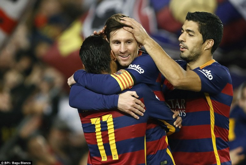 Lionel Messi, making his 500th appearance for Barcelona on Wednesday night, starred in his side's La Liga victory over Real Betis
