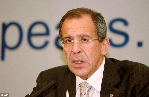 "Ministro de Asuntos Exteriores de Rusia, Sergei Lavrov, se traduce como 'caballito triste ""o"" rustnaya Loshadka'"