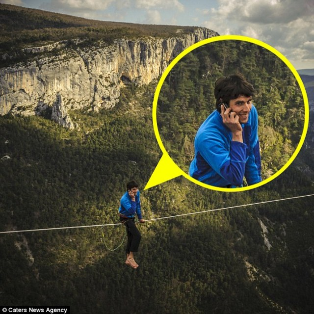 Trancrede Melet, 32, from France, became renowned for his stunts all over the world