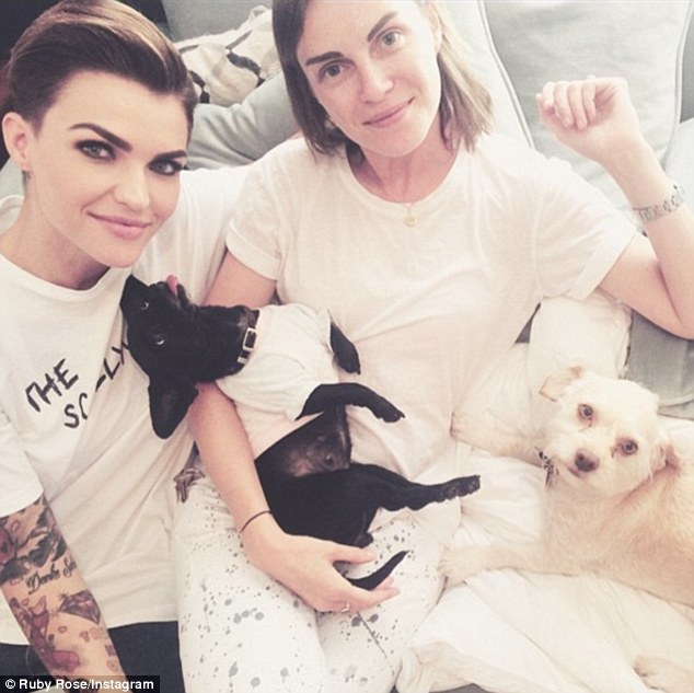 Ruby Rose Hints Shes Missing Ex Fiancee Phoebe Dahl On