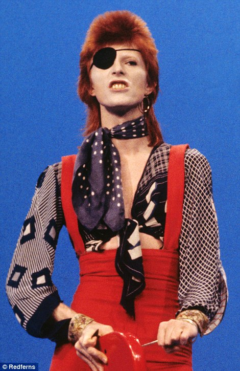 David Bowie in the 1970s
