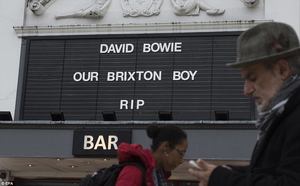 Homegrown: A cinema in Brixton called Bowie 'our Brixton boy' after his death
