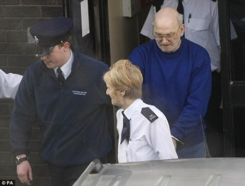 Black, pictured in 2010, after being found guilty of the murder of schoolgirl Jennifer Cardy at Armagh Court
